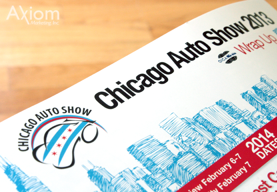 Axiom-Marketing Chicago Auto Show Packet 2013